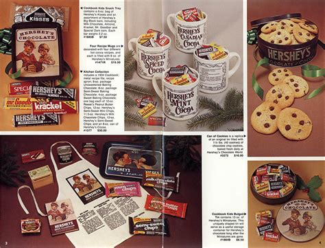 christmas countdown hershey s 1982 holiday gift catalog