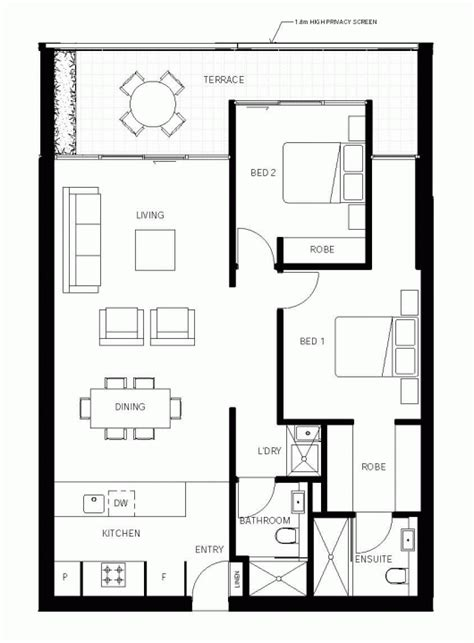 floor plans plus nott street plus architecture archdaily