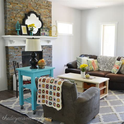 our rustic glam farmhouse living room our diy house the diy mommy
