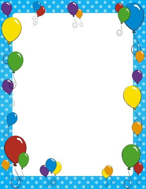 balloon border template free 295 best images about scrapin on