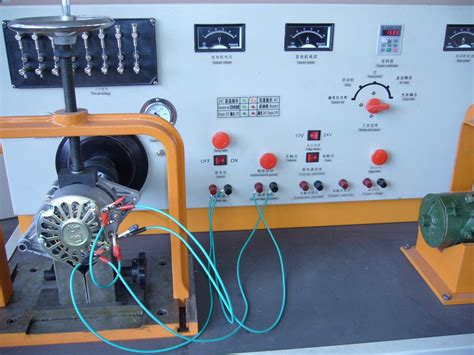 bench testing a starter motor auto electrical equipment test bench test dc generator