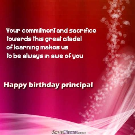Happy Birthday Wishes To Principal Birthday Wishes And Messages For Principal Cards Wishes