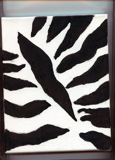 paint colors with zebra print zebra print painting by to kill a mockingjay on deviantart