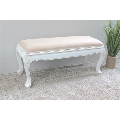 white indoor bench international caravan windsor indoor bench in antique white