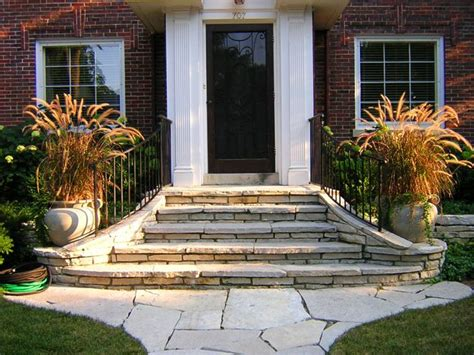Front Staircase Design Front Step Ideas