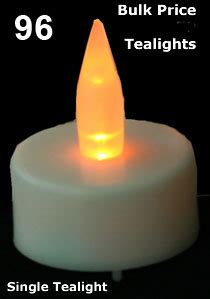 Battery Operated Tealight Candles Bulk by Bulk Tealights 96 Pcs With Batteries Buy Now