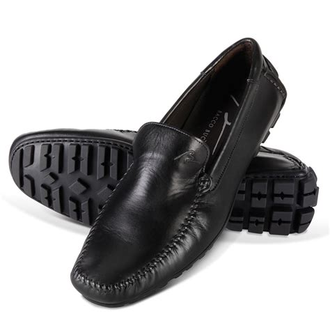 the italian leather driving moccasins hammacher schlemmer