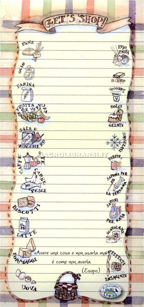 lista spesa alimentare lista della spesa notes 1 ricordati di ricordare