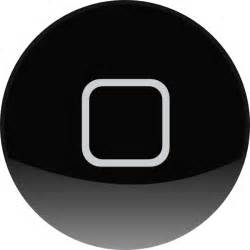 where is the home button on iphone home button clip at clker vector clip
