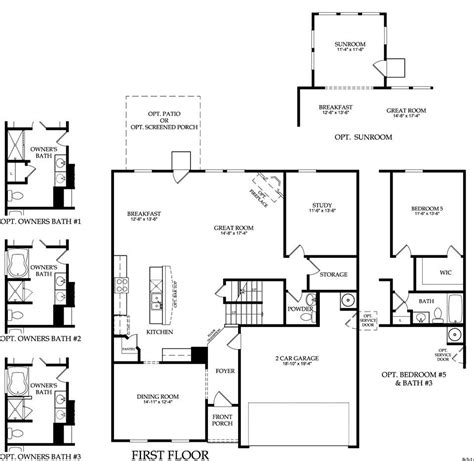 old floor plans centex home floor plans