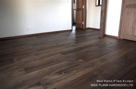 black walnut modern hardwood flooring vancouver by wide plank hardwood inc