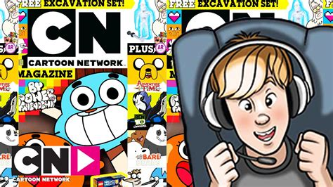 Design Network Magazine | cartoon network magazine review scott the human youtube