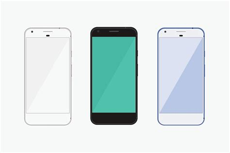15 best google pixel mobile phone mockup templates