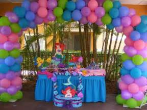 Ariel Table Decorations by Mermaid Decorations 180 Tater S B Day 180 Mermaids