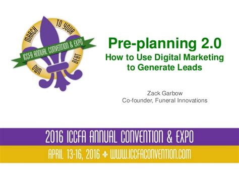 pre planning 2 0 how to use digital marketing to generate