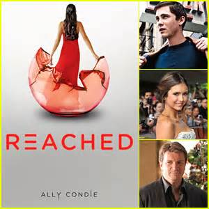 film promise ally condie jjj book club casting ally condie s matched series
