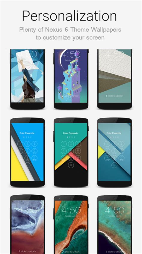 theme google wow lock screen nexus 6 theme android apps on google play