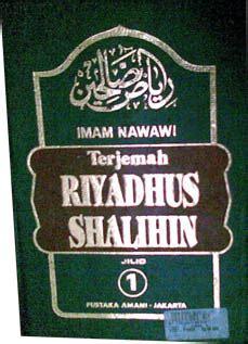 Riyadhus Salihin Imam Nawawi Isi 2 Buku buku riyadhus shalihin