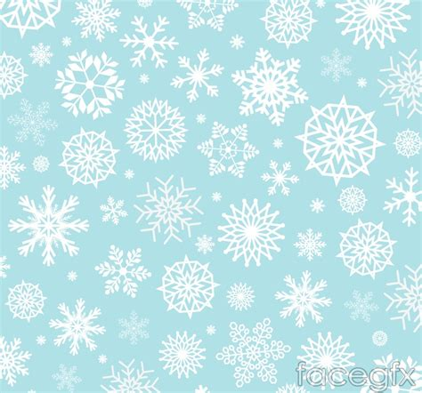 white snowflakes on blue background vector over millions