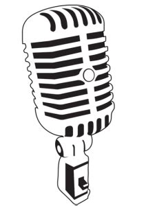 microphone tattoo template vintage microphones vector 212x300 png 212 215 300 crafty