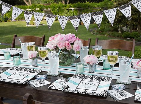 bridal shower decoration city always and forever engagement ideas city
