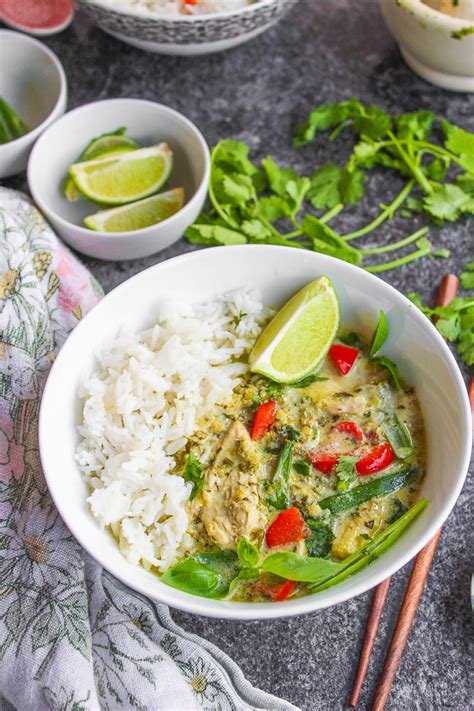 Thai Kitchen Green Curry Recipe by Low Fodmap Thai Green Curry A Saucy Kitchen