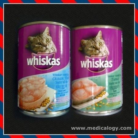 Whiskas Fish 400gr Jual Whiskas Can Kalengan Makanan Kucing Basah Tuna