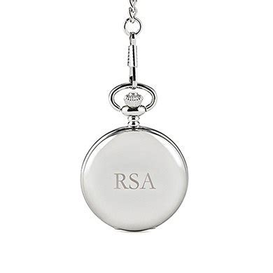 Silver Plated Pocket Watch   The Knot Shop
