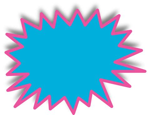 starburst sign template starburst clip at clker vector clip