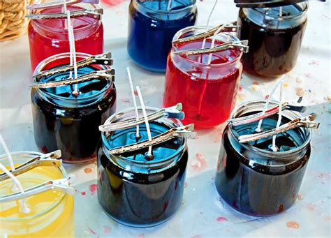 how to make a candle wick diy make recycled candles for candlemas day inhabitat