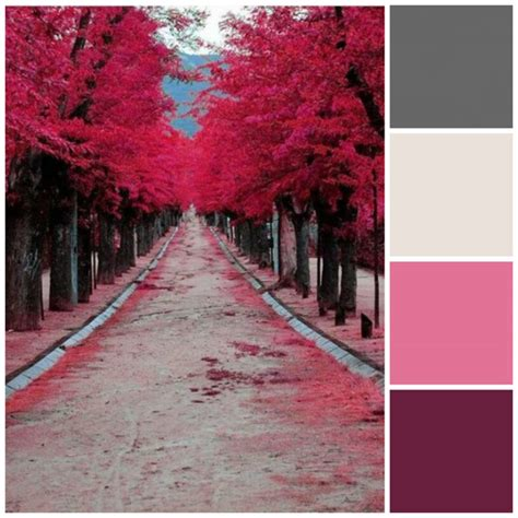 pink and grey color scheme 5 fall color palettes for your bedroom