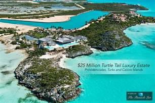 25 million turtle tail luxury estate providenciales turks and
