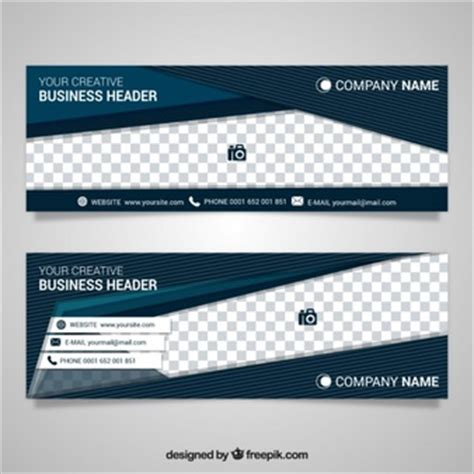 download design header footer header vectors photos and psd files free download