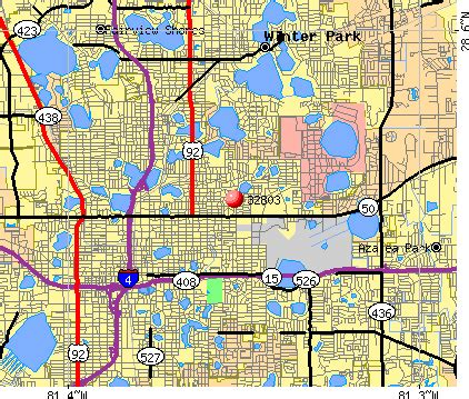 florida zip code map orlando 32803 zip code orlando florida profile homes