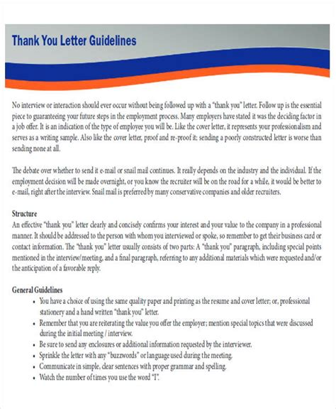layout of a thank you letter sle business letter layout 8 exles in word pdf