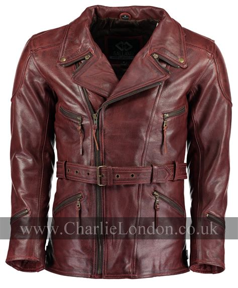 red leather motorcycle charlie london leather jackets for men and women free