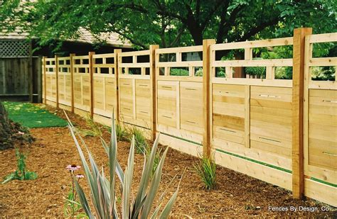 backyard fence styles fence designs fences by design co modular