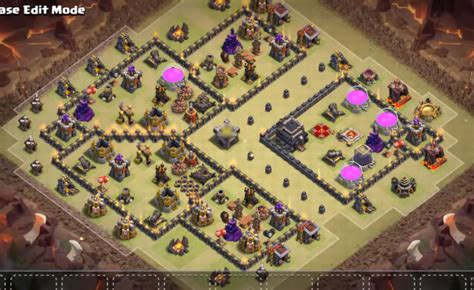clash of clan th 9 war base 9 best th9 war bases anti 2 star 2017 september cocbases