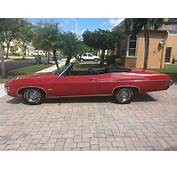1969 Chevrolet Impala Convertible SS427 Matching Numbers