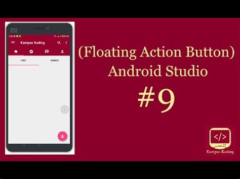 android studio floating layout android studio tutorial material design floating action