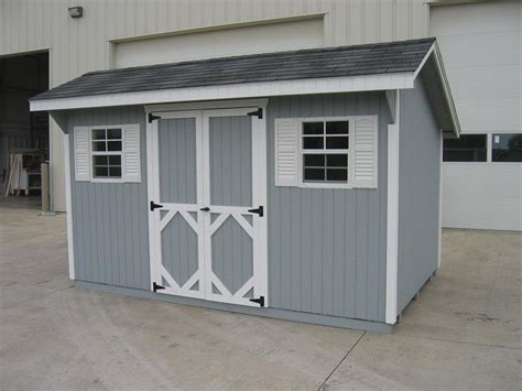 Saltbox Wood Shed by Amish Wood Classic Saltbox Shed