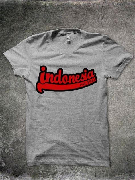 Kaos Distro Indonesia Est 1945 est 1945 light grey shop