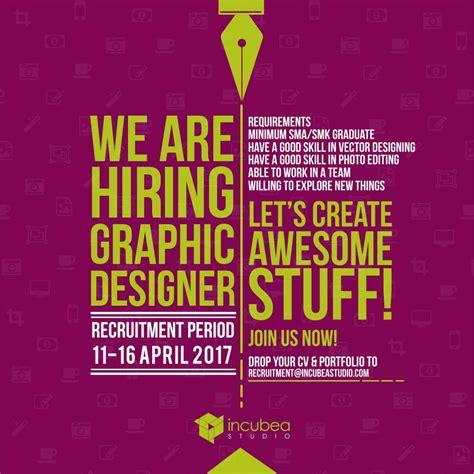 lowongan kerja desain di bali lowongan kerja grafis desainer 11 april 16 april 2017