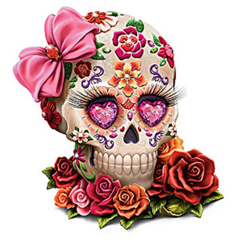 lady amora sugar skull figurine by margaret le van