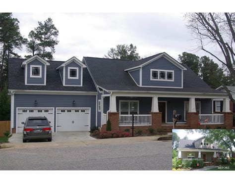 Three Car Garage With Apartment Plans by Parkins Mill Area Attached Garage Screen Porch Addition
