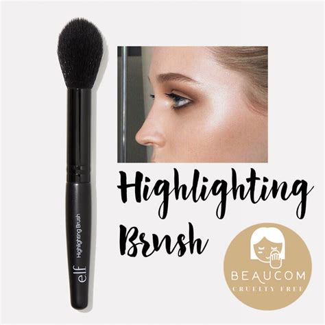 Brush Highlighter makeup brush to apply highlighter fay