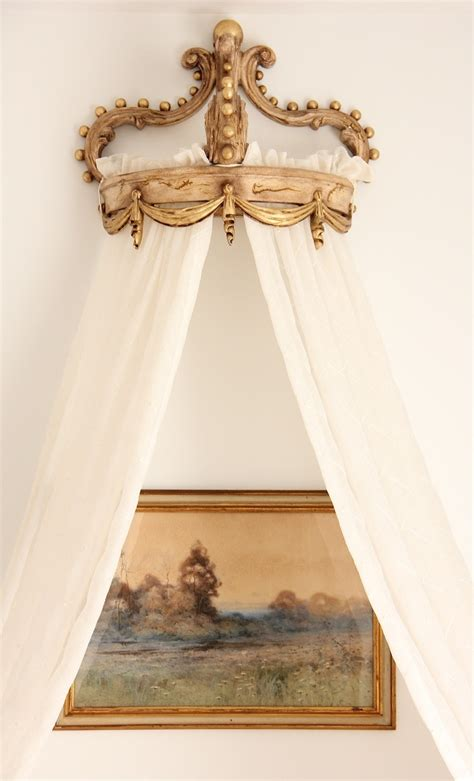 Crown Curtains Valance And Sheer Curtains Framing Painting Castles