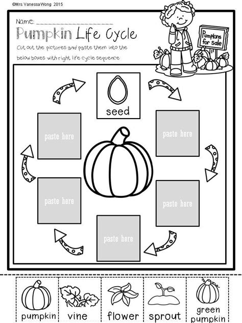Free Fall Math Worksheets by Fall Math And Literacy No Prep Printables Kindergarten