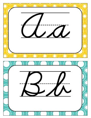 printable alphabet for classroom cursive alphabet letters for classroom use free
