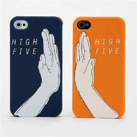 D8713 High Fashion Casing Iphone 5 5s Se 6 6s Kode Rr8713 2 high five matching iphone 5 5s black plastic